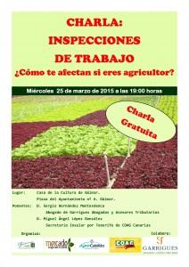 CHARLA INSPECCIONES GUIMAR