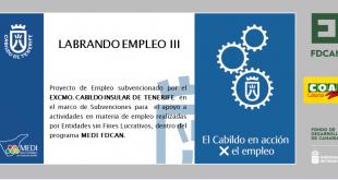 CARTEL OFICIAL LABRANDO EMPLEO III