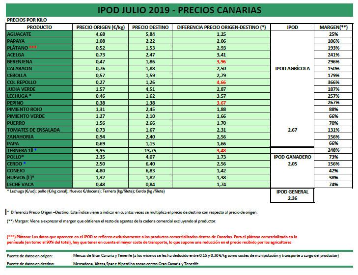 IPOD CANARIAS 07.19