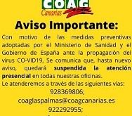 Cartel Estado Alarma