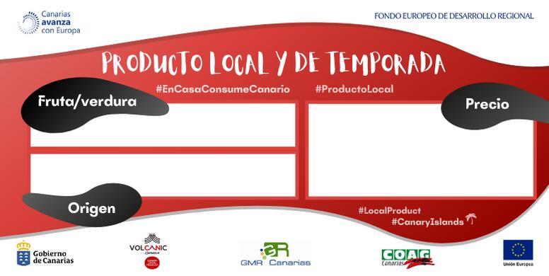 COAG CANARIAS Etiqueta producto local y de temporada