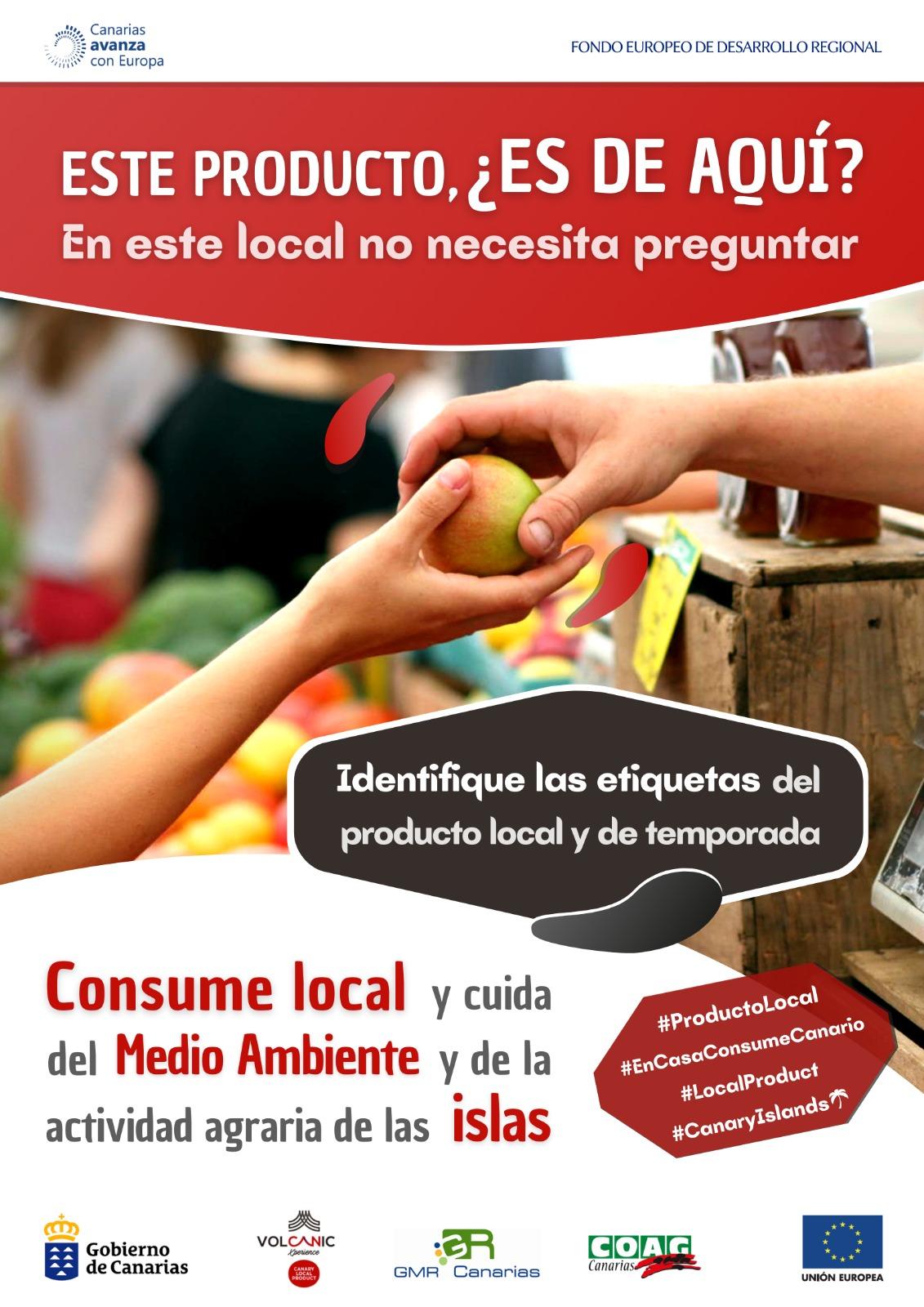 COAG Canarias Producto ocal